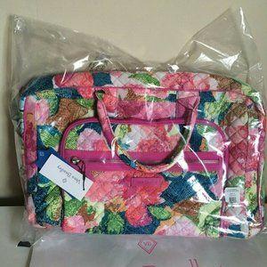 Vera Bradley Superblooms Iconic TRAVELER Bag